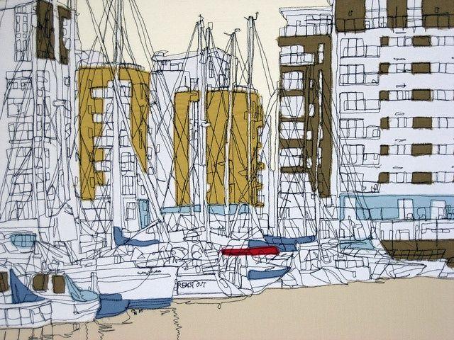 Gillian Bates - Seascape Embroidery – crafthaus