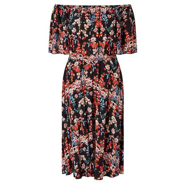 Somerset by Alice Temperley Peony Off The Shoulder Dress, Black