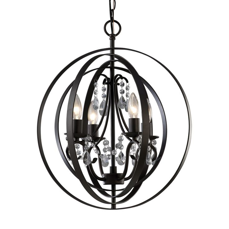 Canarm ICH232B04ORB18 Jordan 4 Light Chandelier | ATG Stores  sc 1 st  Pinterest & 180 best Lighting images on Pinterest | Basement bars Basement ... azcodes.com