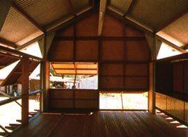 Marika-Alderton House, Yirrakala, East Arnhem Land, 1991-94. Image: Glenn Murcutt. סטודיו יוגה