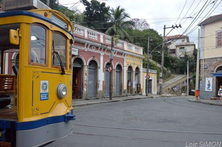 Balade avec le bonde elétrico de Santa Teresa - Rio de Janeiro - Français