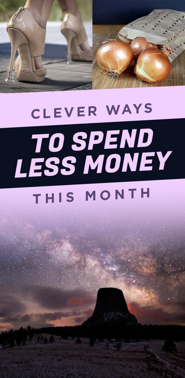 Cheap and dirty ways to keep more of your coin for ~investments~.Posted on June 03, 2017, 12:00 GMTAndrew Richard / BuzzFeedWe hope you love the products we recommend! Just so you know, BuzzFeed may collect a share of sales from the links on this page.1. Save your nice shoes from summer soirées with
