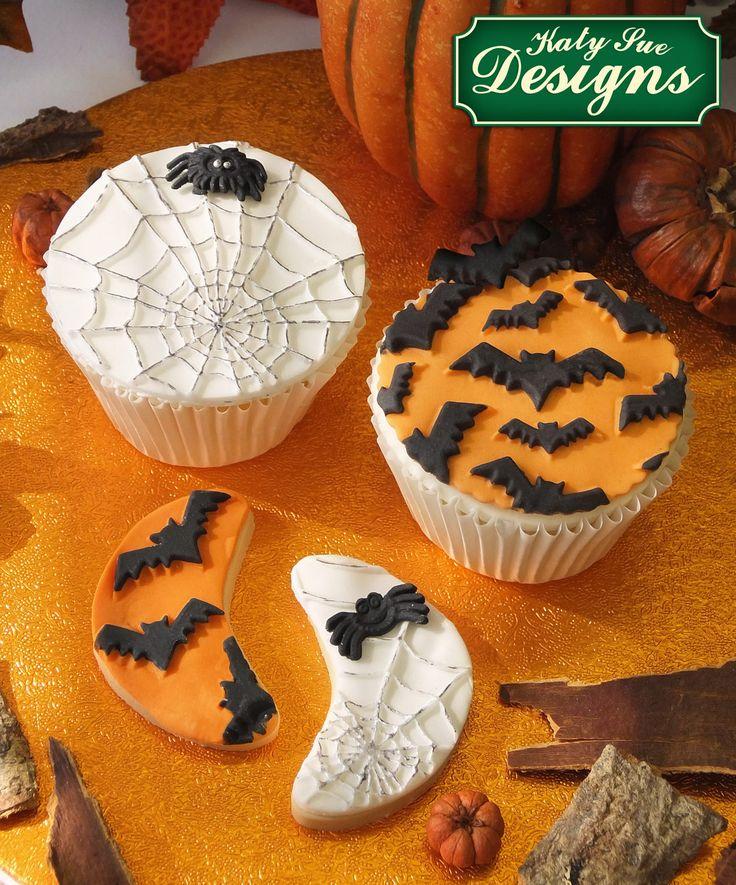 Halloween cupcakes made from the Katy Sue Designs range! Shop Katy Sue Designs at C&C: http://www.createandcraft.tv/baking/brand--katy+sue+designs?icn=Katy_Sue&ici=Katy_Sue_Baking_Brands