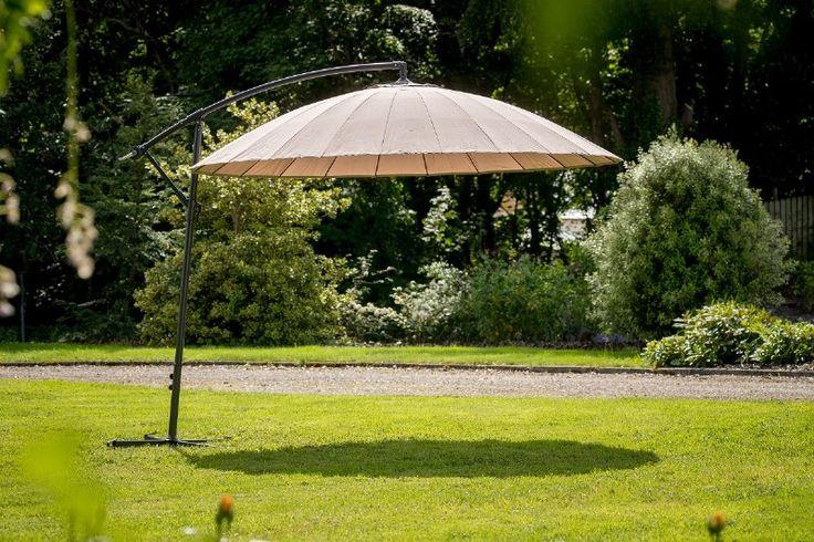 Milano Cantilever Parasol Taupe 3mtr