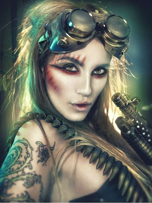 best 25 steampunk makeup ideas on pinterest steampunk ardell lashes halloween and steampunk. Black Bedroom Furniture Sets. Home Design Ideas