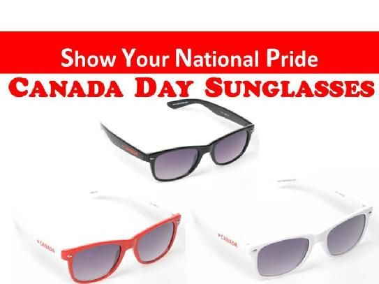VPI CANADA LIMITED Show your National Pride this July 1st ! V.P.I. CANADA has created the perfect pair of CANADA DAY sunglasses that will suit all face shapes and appropriate for all ages! ~Plastic Frame ~100% U.V PROTECTION ~Lightweight & Durable ~Unisex ~Wayfarer Style ~Great for ALL Ages ~Only $15.00 Pair (HUGE SAVINGS ON WHOLESALE PRICING) *WEB www.vpicanada.com *PHONE:905-886-2022 *EMAIL: sales@vpicanada.comless