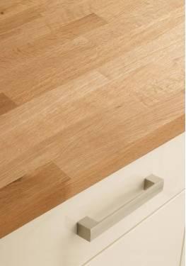 oak block work tops (howdens) is solid wood work tops practical?