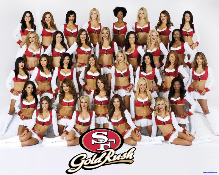 GOLD RUSH~ San Francisco 49ers Cheerleaders