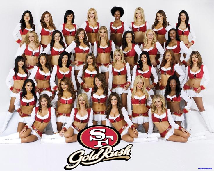 GOLD RUSH~ San Francisco 49ers Cheerleaders