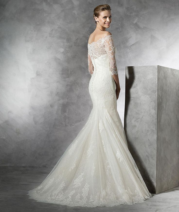 bellamy by pronovias bridal gown available at lulu 39 s