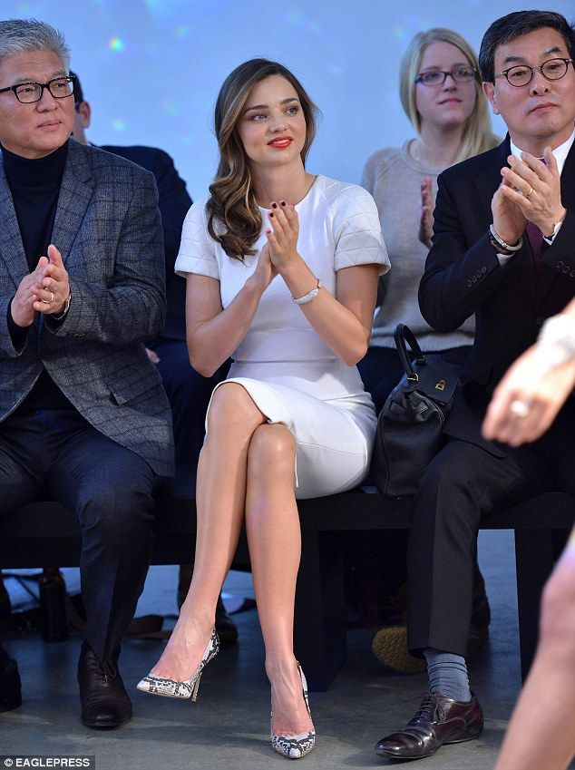 Miranda Kerr at the GS Lingerie show l February, 2014