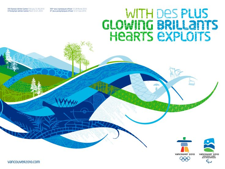 Vancouver Olympic identity 2010