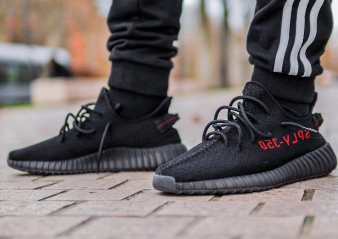adidas Yeezy Boost Black/Red Release