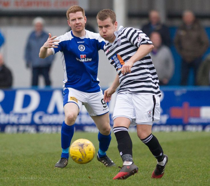 Queen's Park's Jamie McKernon in action during the Ladbrokes League One game between Stranraer and Queen's Park. P