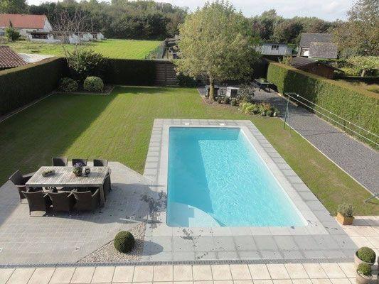 1000 id es sur le th me piscine coque sur pinterest mini for Construction piscine 10m2