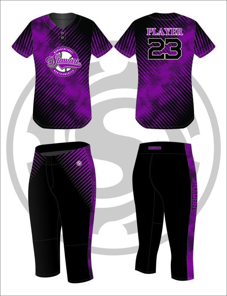 Womens Softball Uniform 88