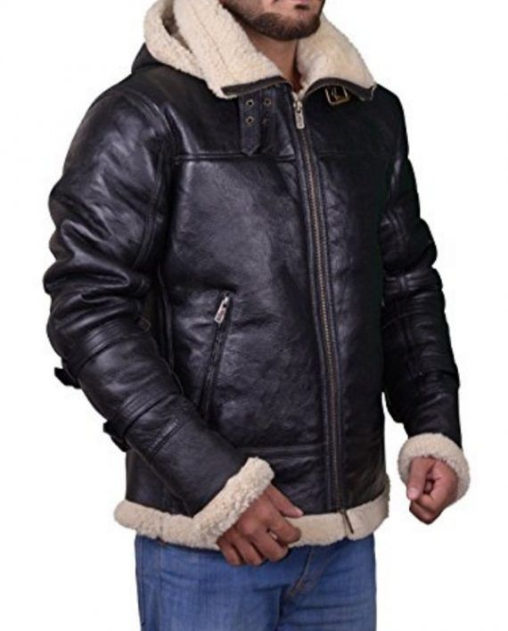Bomber Sheepskin Shearling Jacket