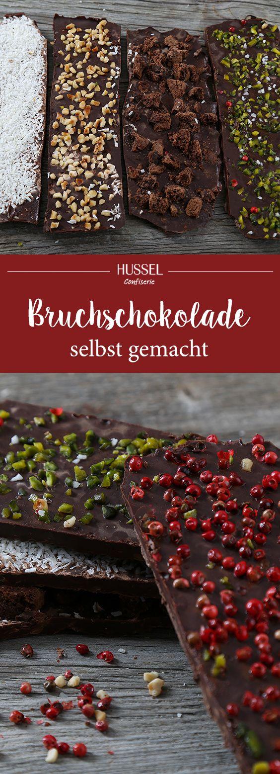 Selbstgemachte Bruchschokolade – Hussel Confiserie