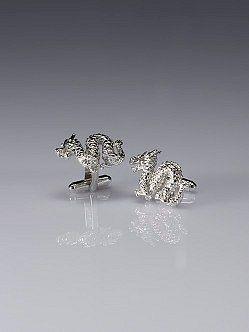 Silver Dragon Cufflinks