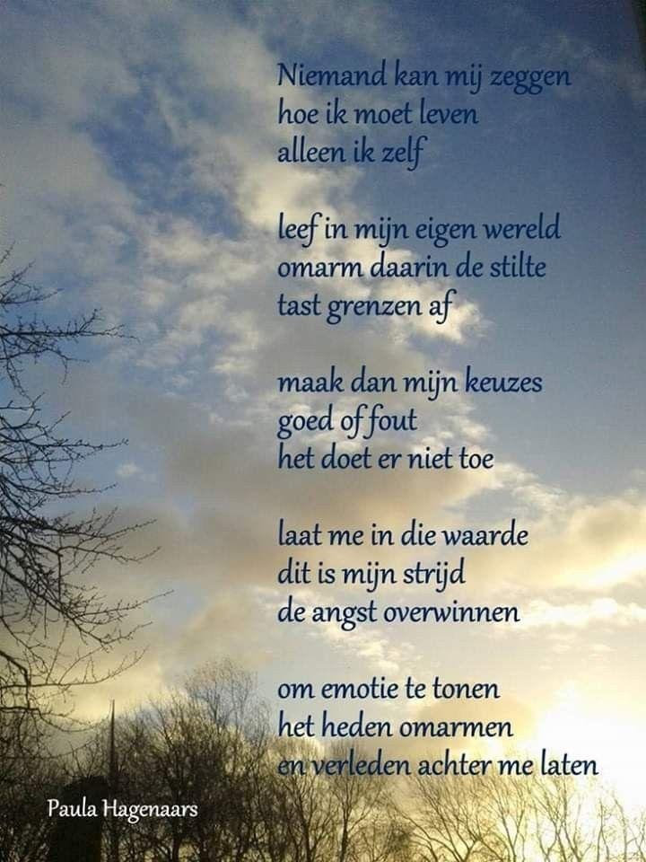 Pin Van Hilly Hijma Op Inspiring Teksten Gedichten Mooie Gedichten