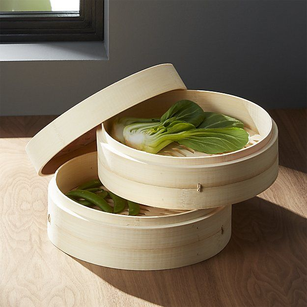 Bamboo Steamer | Crate and Barrel