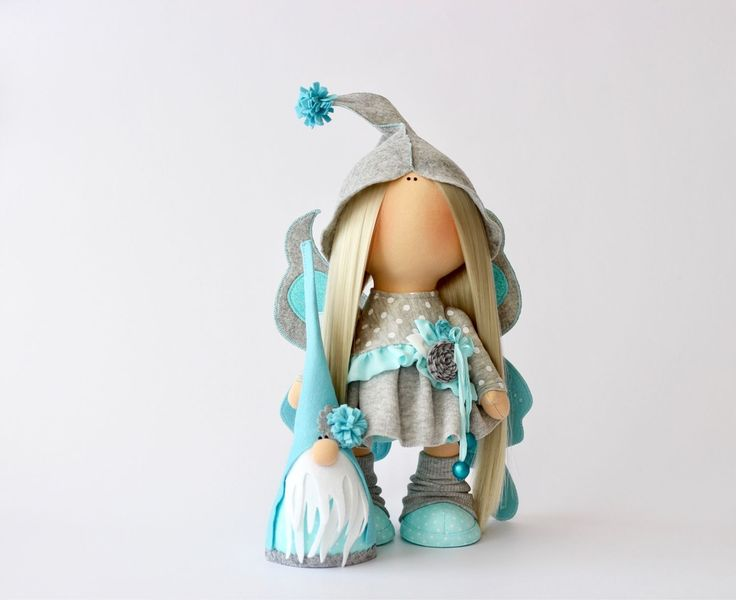 Купить Гномы и эльфы - кукла ручной работы, кукла в подарок, кукла, кукла интерьерная, эльф