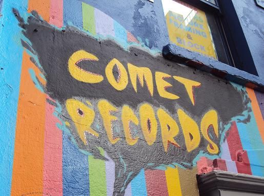 COMET RECORDS en Dublín: Tienda de discos de pura cepa | DolceCity.com