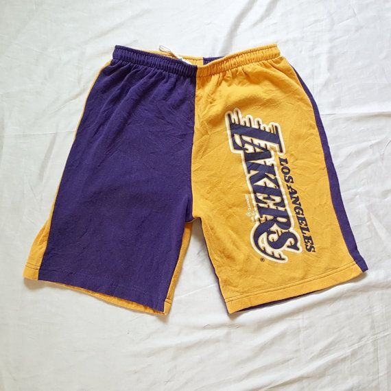 Vintage 90s Los Angeles Lakers 1993 Hummer Sportswear USA LA Basketball NBA Shorts Hip Hop Rap Multicolor Purple Yellow https://www.etsy.com/listing/482276301 #Vintage #90s #LosAngeles #Lakers #Hummer #Sportswear #USA #LA #Basketball #NBA #Shorts #HipHop #Rap #Multicolor #Purple #Yellow