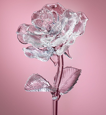 Waterford 174 Glass Rose With Images Swarovski Crystal