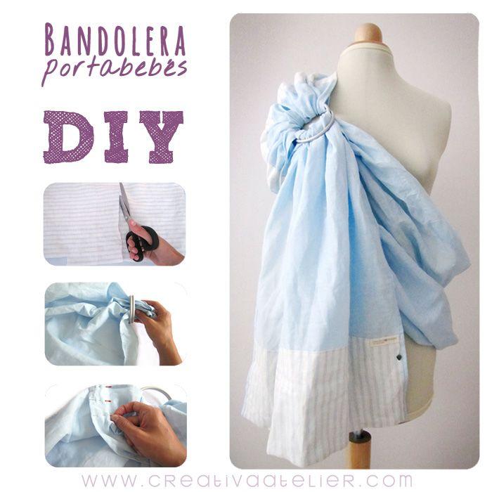 Ya podéis encontrar en el blog el tutorial para hacer una #bandolera #portabebés, un imprescindible para llevar a los bebés bien cerquita nuestra de forma ergonómica. #DIY