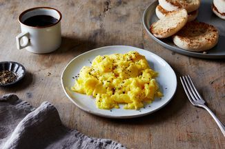 Lady & Pups' Magic 15-Second Creamy Scrambled Eggs Recipe on Food52 recipe on Food52
