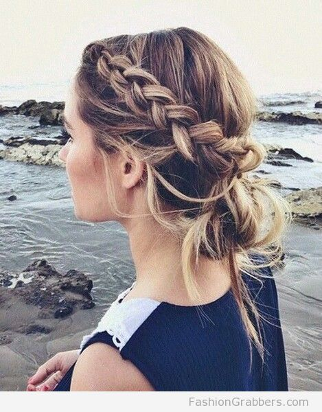 Incredible 1000 Ideas About Braided Bun Hairstyles On Pinterest Box Braids Hairstyle Inspiration Daily Dogsangcom