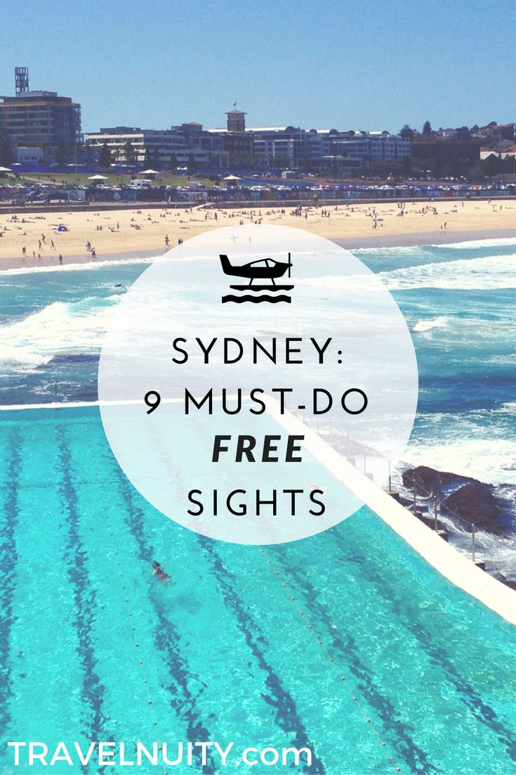 Between accommodation, dining out and booking day trips, Sydney is a fairly pricey city to visit these days. However, there are plenty of free things to do.