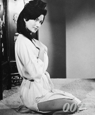 ON THIS DAY IN BOND HISTORY: 1961, Four actresses tested with Sean Connery for the role of Miss Taro in DR. NO. The role went to Zena Marshall