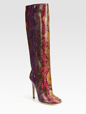 Jimmy Choo Psychadelic Python Knee-High Boots: Shoes, Boots 2895, Choo Psychadel, Knee High Boots, Psychadel Python, Kneehigh Boots, Jimmy Choo, Python Kneehigh, Python Knee High
