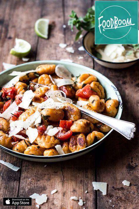 Lass uns Süßkartoffel-Gnocchi machen!