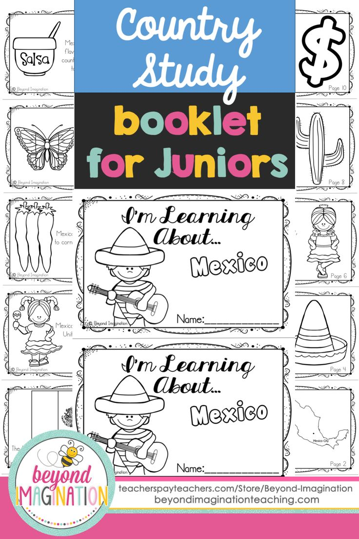 Background information on mexico - Mexico Country Study 48 Pages For Differentiated Learning Bonus Pages