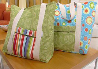 Como hacer bolsos tela