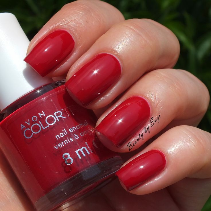 Avon Pink Nail Polish: Avon Colortrend Nail Enamel, Velour