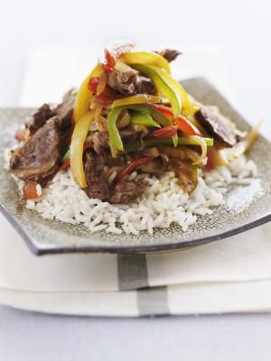 Steak and Peppers over Rice - Alexandra Grablewski / Getty Images