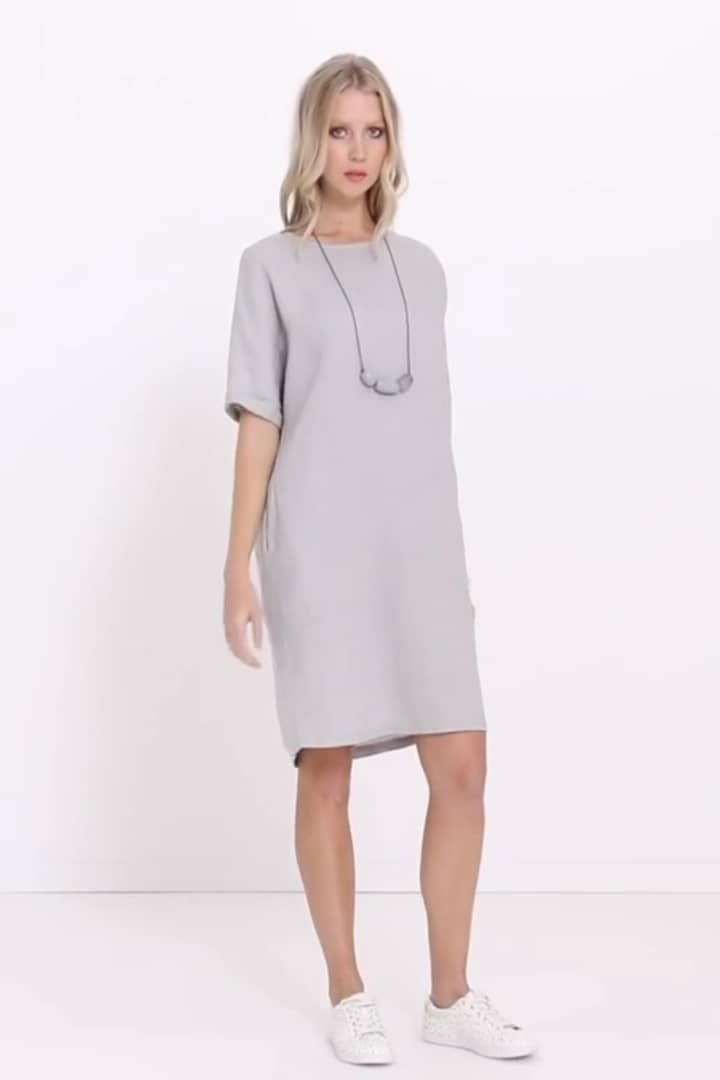 e455102fa6 The Linen Shift Dress has fast proven to be a season favourite. Crafted  from 100% linen this dress is a classic transeasonal style you can wear as  is or ...