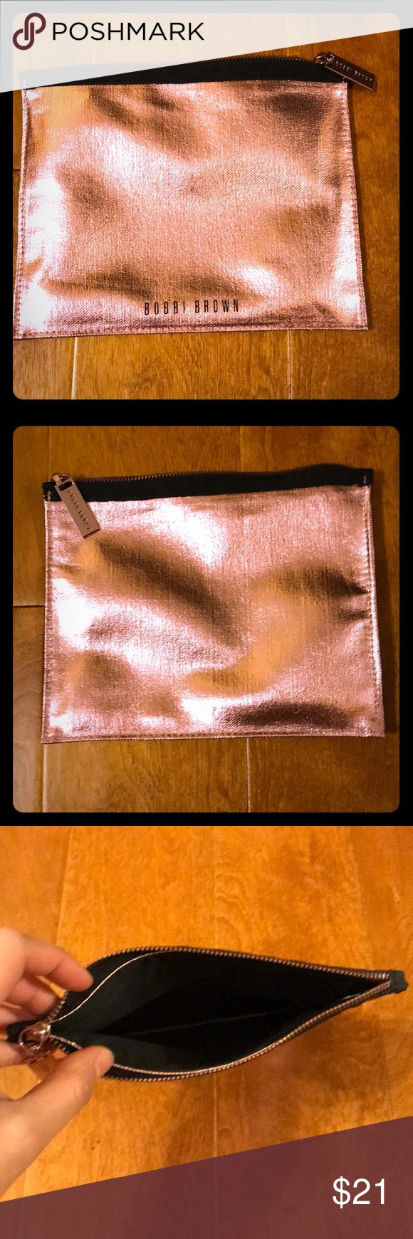 New Bobbi Brown Makeup Bag New pink Bobbi Brown makeup bag. Bobbi Brown Makeup Brushes & Tools