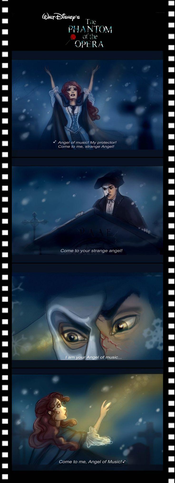 Disney's Phantom - sneak peek by Elf-in-mirror.deviantart.com on @deviantART