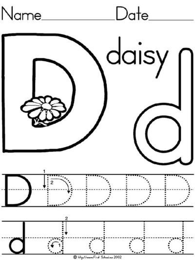 letter d daisy lesson plan printable activities poster coloring word search for preschool k and early grades preschool alphabet pinterest