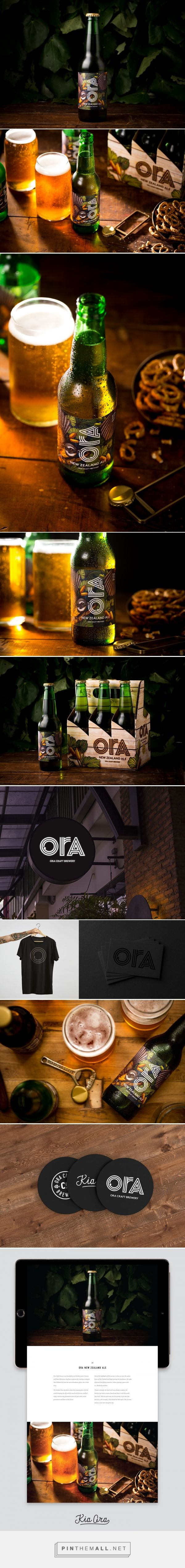 Ora Craft Beer Branding and Packaging by Kate O'Hara & Monique Robins | Fivestar Branding Agency – Design and Branding Agency & Curated Inspiration Gallery  #packaging #beerpackaging #design #designinspiration