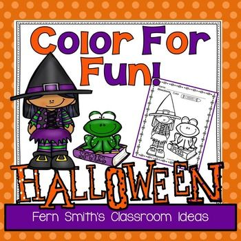 414 best images about Halloween Coloring Pages on Pinterest
