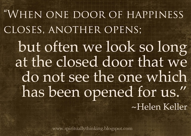 Quotes About One Door Closing And Another Opening: Inspiring Quotes From Helen Keller. QuotesGram