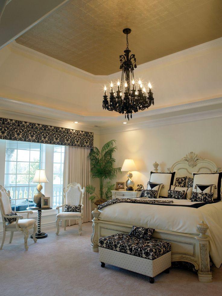 die besten 25 vertiefte schlafzimmerdecke ideen auf pinterest schablonen decken bemaltes. Black Bedroom Furniture Sets. Home Design Ideas