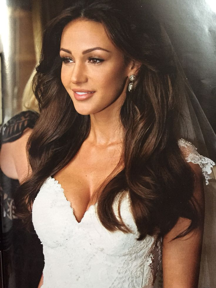 Michelle Keegan in her amazing wedding dress ready to get married to mark wright ❤️