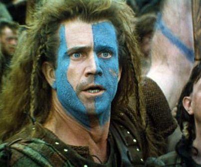 Braveheart: Melgibson, Mel Gibson, Brave Heart, Braveheart 1995, Warpaint, Williams Wallace, Favorite Movie, Halloween Ideas, War Paintings